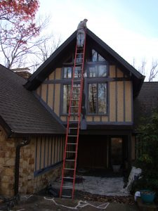 Prepping a house for painting